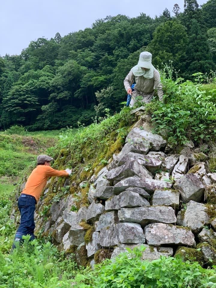 種蔵の景観を維持しよう!〜石積みの補修編②!