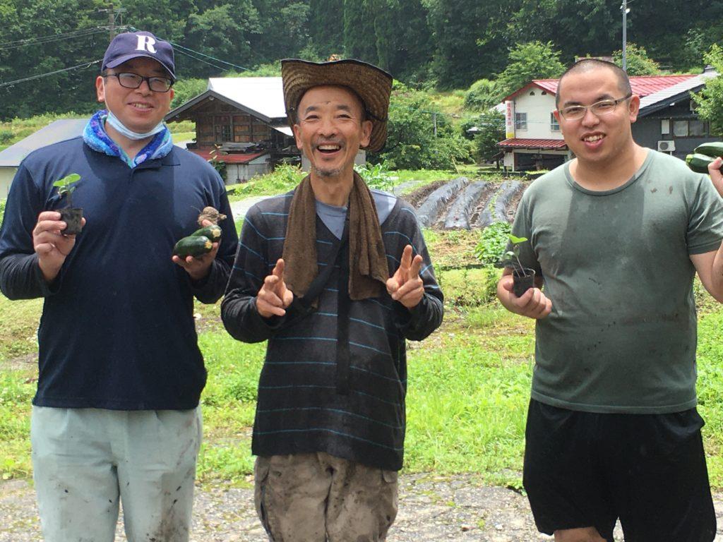 【毎週水曜開催(8月)】自然の中でエクサ(e草)サイズ!有機農業のお手伝いをしよう!
