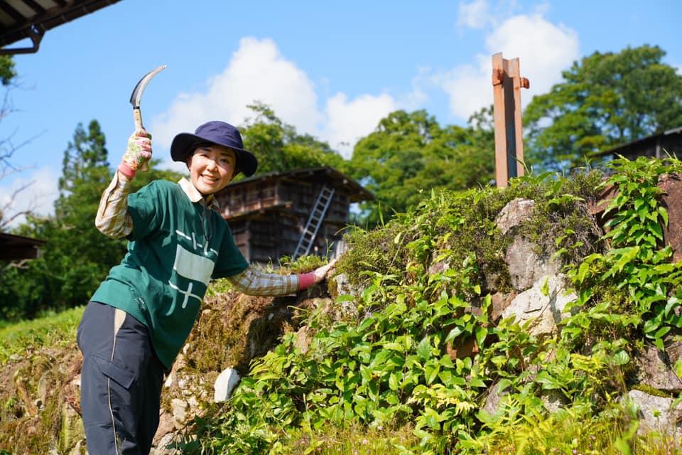【9月13日開催】種蔵の景観を維持しよう!〜石積みの草取り編③!
