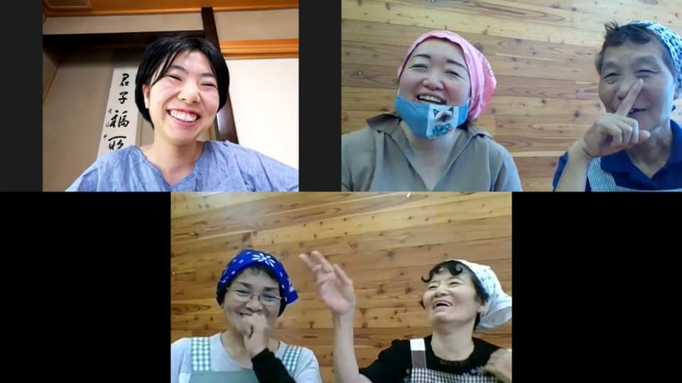かわい野草茶研究グループオンラインミーティングにチャレンジ!
