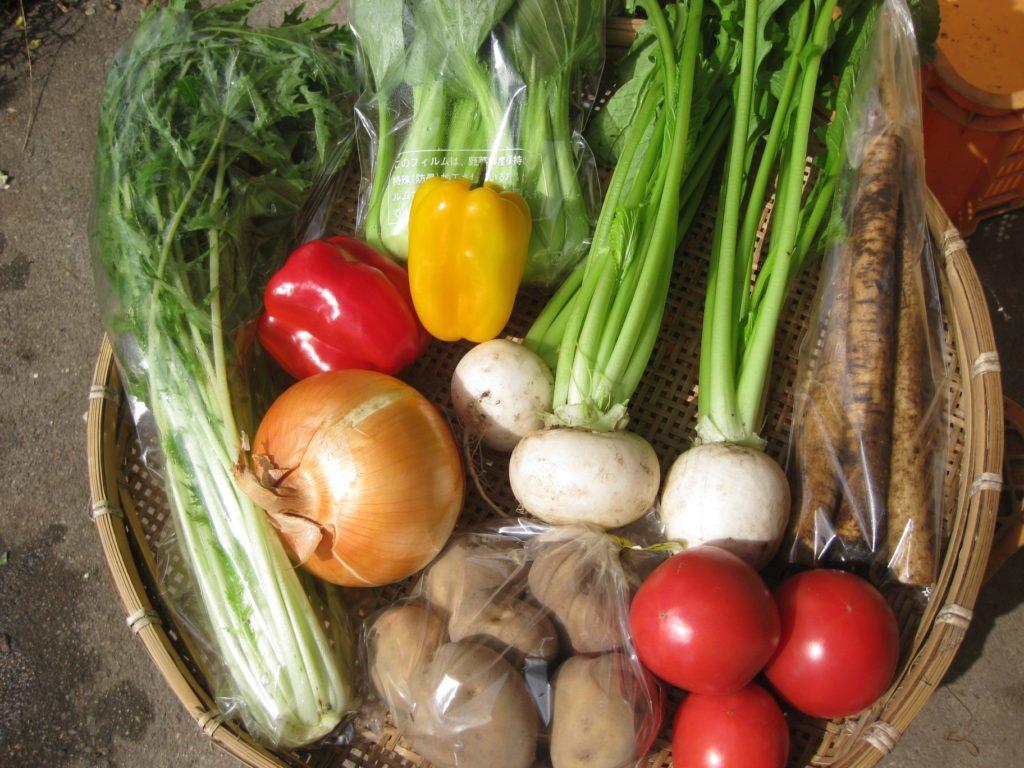 ありがとうファームの「完全無農薬!おまかせ季節の野菜セット」を使ったレシピ開発のお手伝い!