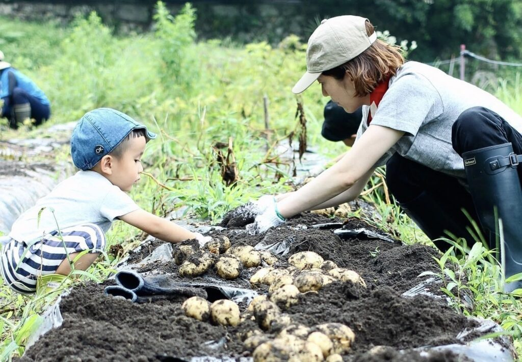 【岐阜県内在住者限定】ソヤ畦畑『じゃがいもの植え付け』のお手伝い!お子さんもOK♪(5月8日(土)開催)