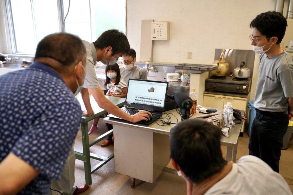 石棒クラブ飛騨みやがわ考古民俗館で3Dデータ化のお手伝い&技術も習得しちゃおう合宿!