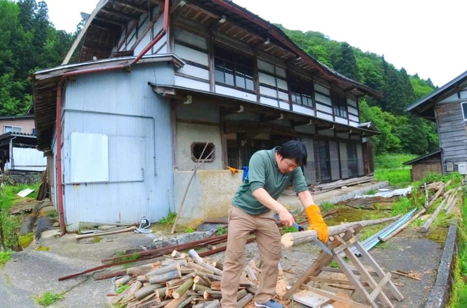 【飛騨市民限定】宮川町に一大拠点を作ろう!古民家リノベーションのお手伝い!